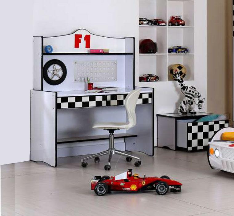 Poshtots F1 White Desk