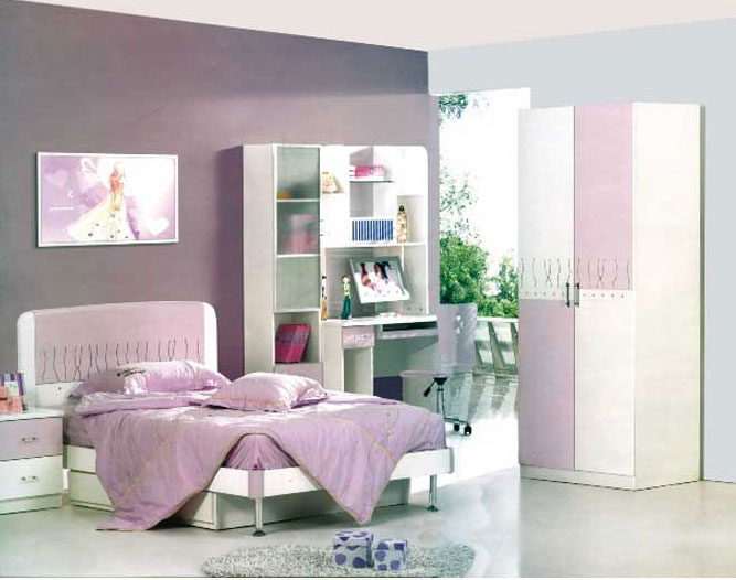 Poshtots Rose Bedroom set