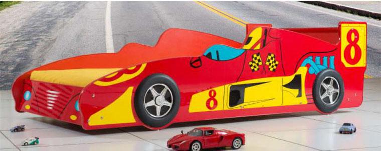 Poshtots Red Le Mans Race Car