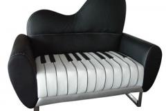 Poshtots Piano Couch