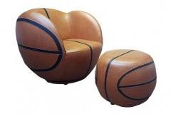 Poshtots Basket Ball and foot rest