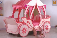Poshtots Cinderella Carriage Bed