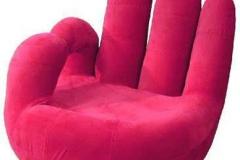Poshtots Pink OK Chair