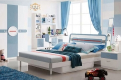 Poshtots Laser Bedroom set