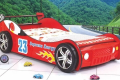 Poshtots Red Hot Rod Race Car