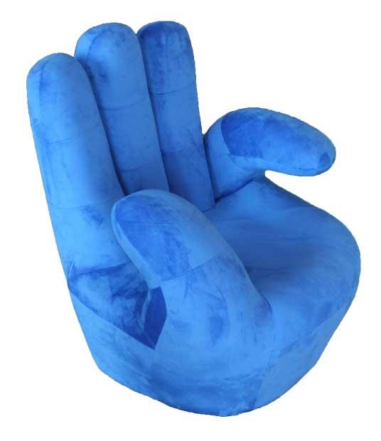 MANDARIN-BLUE CHAIR