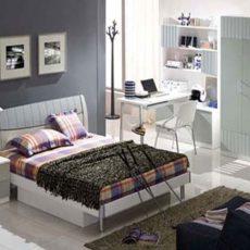 Poshtots Ocean Blue Bed